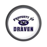 Property of draven Wall Clock