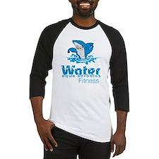 Tommy Mac Aqua Aerobics Water Fitn Baseball Jersey
