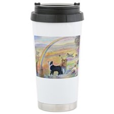 waiting at the rainbow bridge - Ceramic Travel Mug