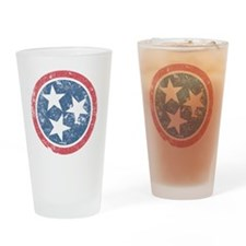 TN_shirt_fade Drinking Glass