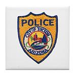 Tucson Police  Tile Coaster