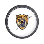 Tucson Police  Wall Clock