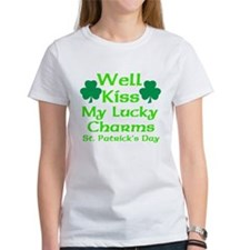 Well Kiss My Lucky Charms Tee