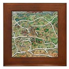 Atlanta Blanket Framed Tile