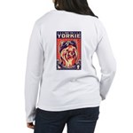 Obey the YORKIE! Women's Long Sleeve T