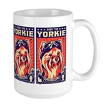 Obey the YORKIE! Pilot Retro Large Mug 