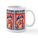 Obey the YORKIE! Propaganda UK Pilot Mug