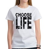 Choose Life Distressed Tee