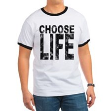 Choose Life Distressed T
