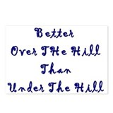 Over The Hill Postcards (Package of 8)