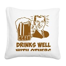 beerGuy4B Square Canvas Pillow