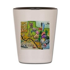 Corpus Christi TEXAS Map Blanket Shot Glass