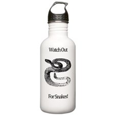 Watch Out For Snakes Water Bottle