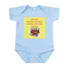 polish sausage Infant Bodysuit