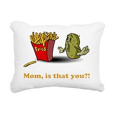 potato-fries-drk Rectangular Canvas Pillow