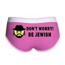 Be Jewish Bumper Sticker Women's Boy Brief