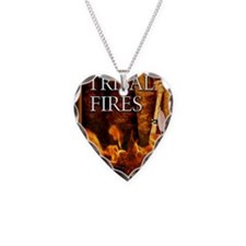 Tribal Fires greeting card Necklace