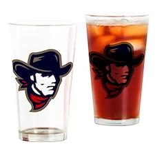 New Mavs Logo Drinking Glass