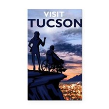 Visit Tucson poster Rectangle Car Magnet