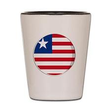 liberia Shot Glass
