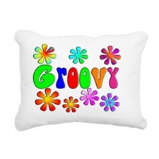 Groovy Rectangular Canvas Pillow