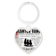 bloodmeridian_pint Heart Keychain