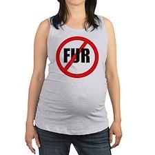V-fur Maternity Tank Top