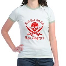 los angeles red T