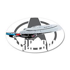 Star-Trek-TNG-blk 35x21 Oval Wall Decal