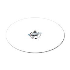 Star-Trek-TNG-blk 20x12 Oval Wall Decal