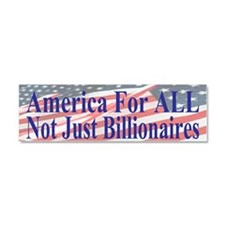 America for ALL   Flags b bumper Car Magnet 10 x 3