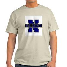 US Navy Ash Grey T-Shirt