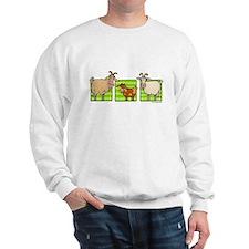 3 goats Sweatshirt