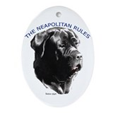 neapolitan rules Oval Ornament