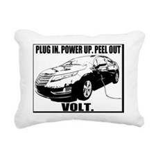 plugin_powerup_white Rectangular Canvas Pillow