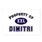 Property of dimitri Postcards (Package of 8)