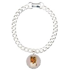 Rough Collie 2 jewel Bracelet