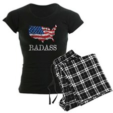 AmericanBadass_DrkShrt Pajamas