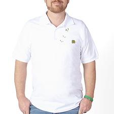 FIN-birds-rock-poopy-WonB T-Shirt