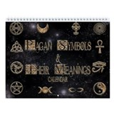 Pagan Symbols Wall Calendar
