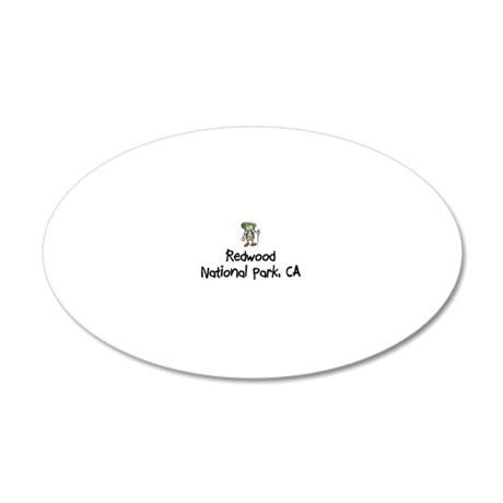 RedwoodNP_Back 20x12 Oval Wall Decal