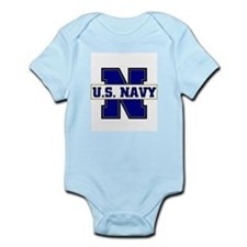 U S Navy Infant Bodysuit
