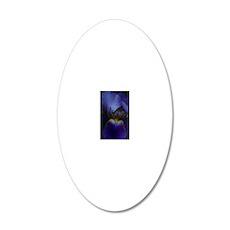 Iris Jouranl 1 20x12 Oval Wall Decal