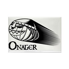 BW Onager logo Rectangle Magnet