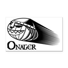 BW Onager logo Rectangle Car Magnet
