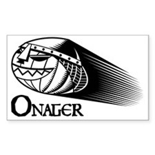 BW Onager logo Decal