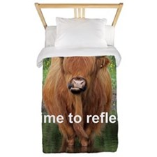Cow mini poster Twin Duvet