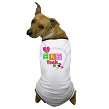 EKG Tech Dog T-Shirt