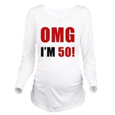 omg50 Long Sleeve Maternity T-Shirt