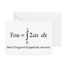 Your Math Insult Greeting Cards (Pk of 10)